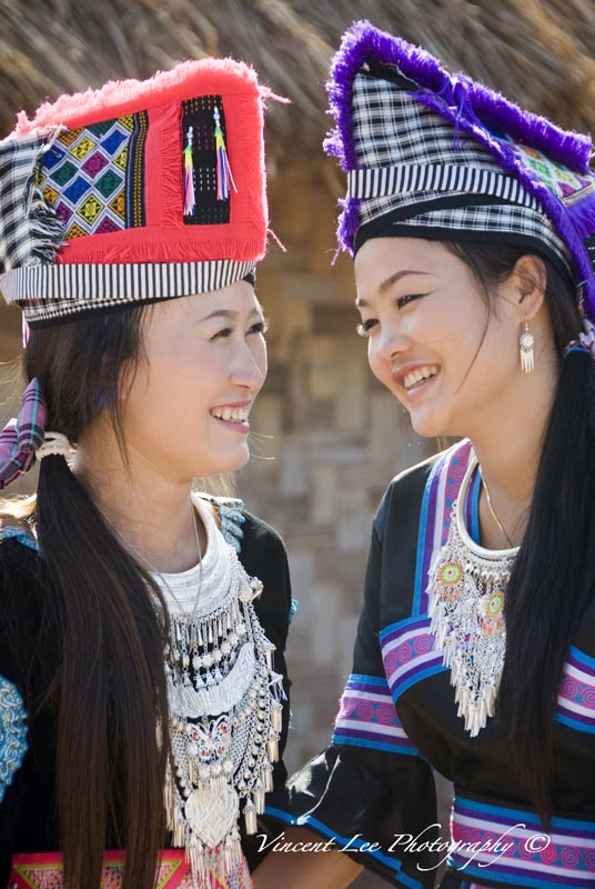"""The beautiful young Hmong girls"""