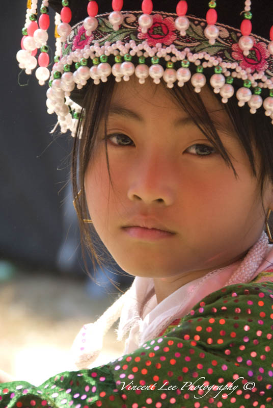 """The little Hmong girl"""