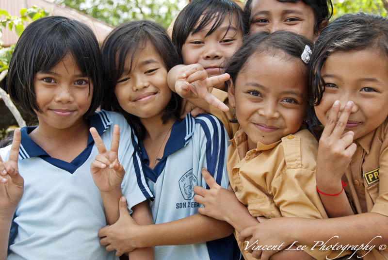 Happy Face of children