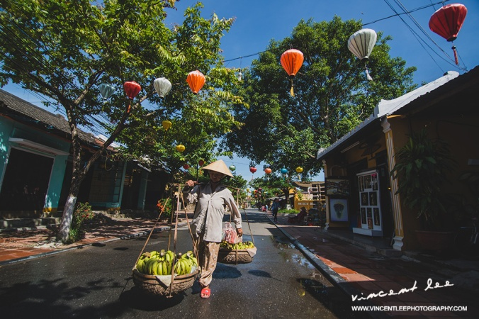Beautiful Hoi An street