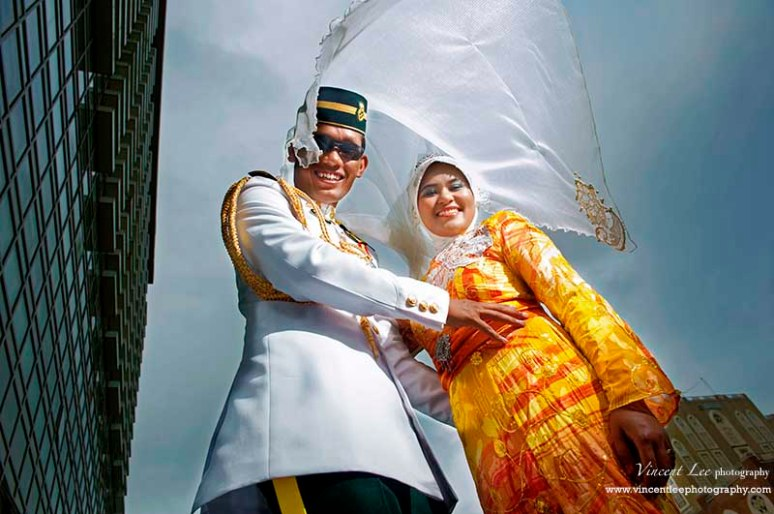 Pre wedding image with style