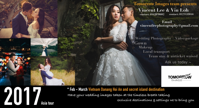 Destination pre-wedding photoshoot services - Vietnam