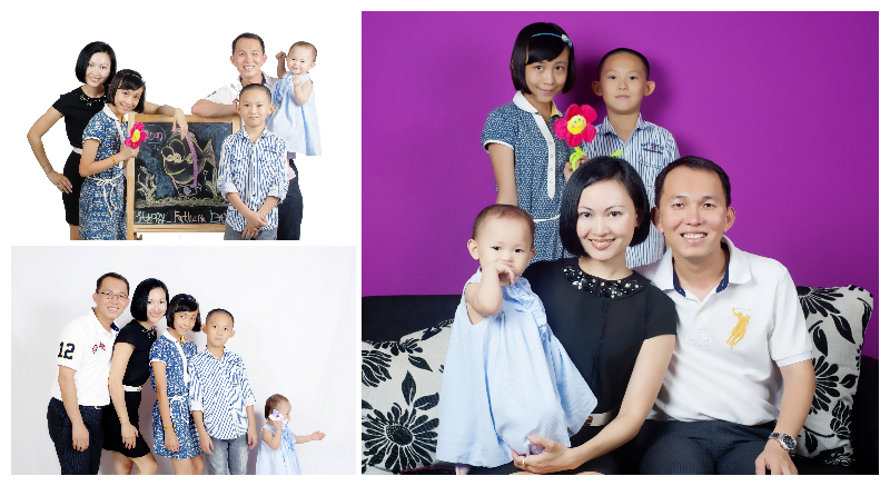 Eng Family collages