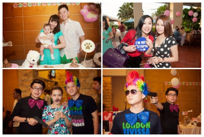 Party with the celebration of Renae Rose Wong new arrival to family of Joshua & Vi-Lynn