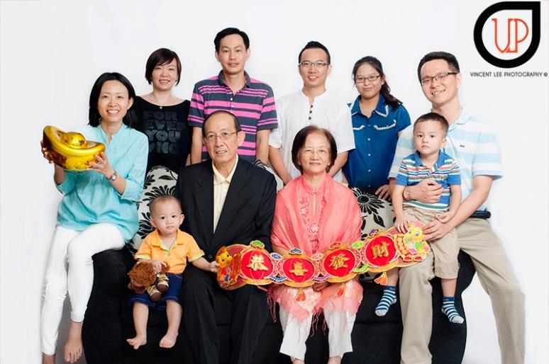 Choy's family portrait CNY theme