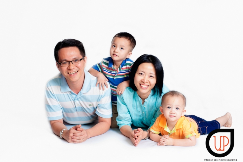 Choy's family portrait CNY theme