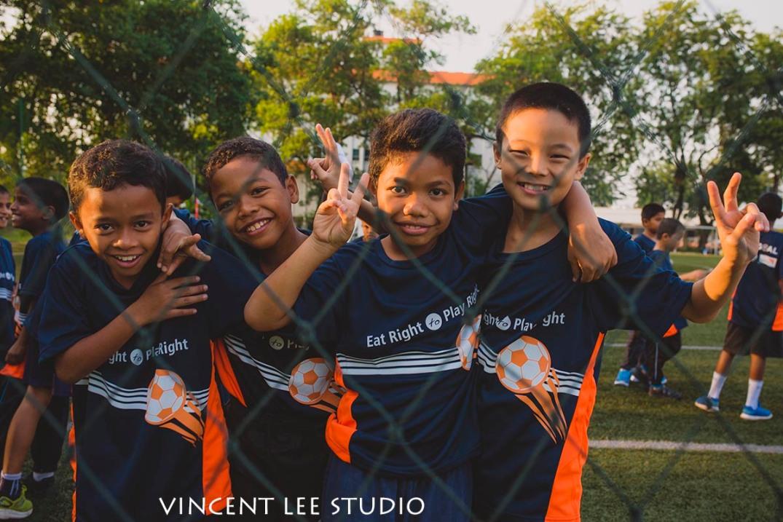 World Vision volunteer work