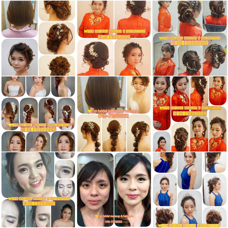 Fyn Bridal Makeup & Hair Style
